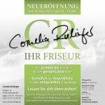 Cornelia Rielinger - Flyer A5 quadratisch