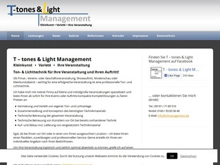 T – tones & Light Management