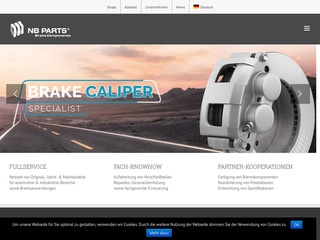 NB PARTS GmbH • Brake solutions